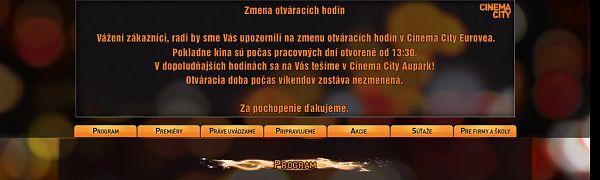81139202d8 Kino Eurovea v Bratislave